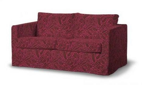 Dekoria Pokrowiec na sofę Karlstad 2-osobową nierozkładaną długi Comfort 110-57,