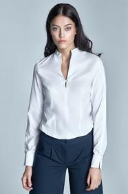 Nife Koszula ze stójką - biały 2185031