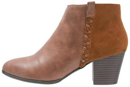 Anna Field Ankle boot cognac SMC.63.205