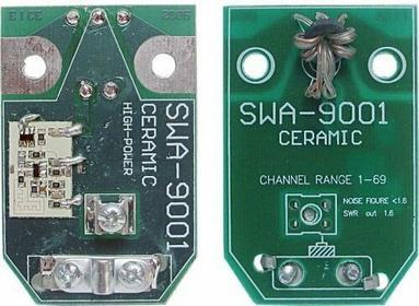Wzmacniacz antenowy dopuszkowy SWA-9001