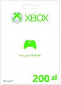 Microsoft Xbox Live CSV 200 PLN