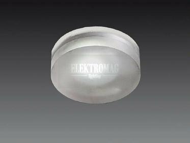 Maxlight Nowoczesna Lampa sufitowa OPRAWA podtynkowa PLAFON kuchenny LED SIERRA AD6067 okrągła Biały