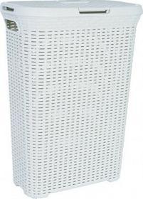 Curver Kosz na bieliznę Style w kolorze kremowym o pojemności 40 L