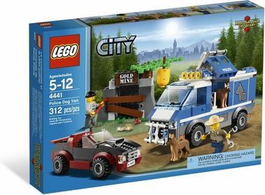 LEGO Samochód dla psów policyjnych 4441