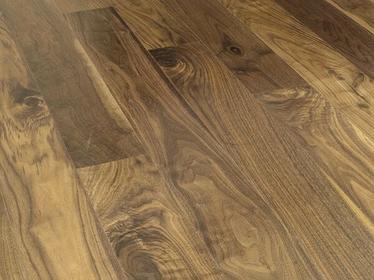 DLH Deska podłogowa lita - Orzech Amerykański Style 18x110x310-1810mm lakierowan