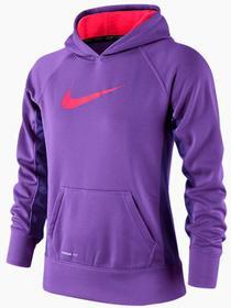 Nike Bluza Dziewczęca KO 2.0 FZ Hoody - hyper grape/hyper punch