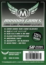 Mayday Games koszulki do kart Standard CCG Premium (63,5 x 88 mm) - 50 sztuk 3215_201603