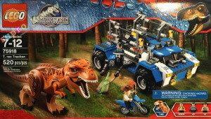 LEGO Park Jurajski 75918 Tropiciel tyranozaura
