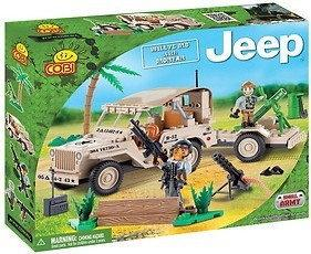 Cobi 24190 JEEP WILLYS MB WITH MORTAR