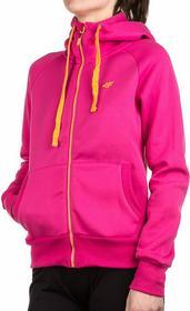 4F Bluza damska z kapturem T4L15.BLD004 - różowy