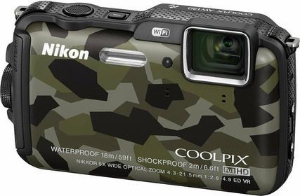 Nikon Coolpix AW120 moro