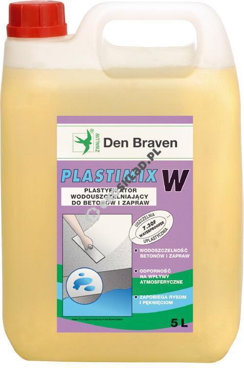 Den Braven plastyfikator wodouszczelniający do betonów i zapraw 1L