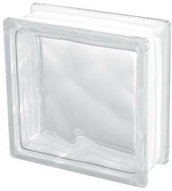 Nomos Pustak szklany 19x19x8 Wave Clear 1919/8 bezbarwny 25-1908W