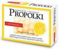 Nepentes Propolki z witaminą C 16 szt.
