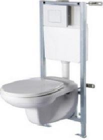 Zestaw podtynkowy Malmo | stelaż + miska wisząca WC | prod. Durasan