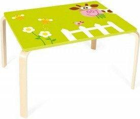 Scratch Stół drewniany dla Dzieci Krówka 6182304