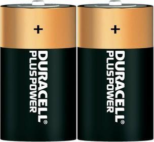 Duracell Zestaw 2 baterii alkalicznych Plus 1 5V D (R20)