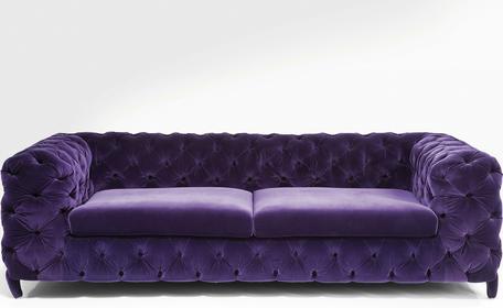 Kare Design Sofa Desire Velvet 78016