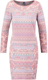 KOOI Sukienka dzianinowa pink 16152