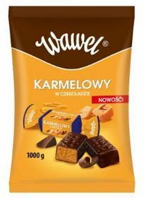 Wawel KARMELOWY- CUKIERKI W CZEKOLADZIE 1KG