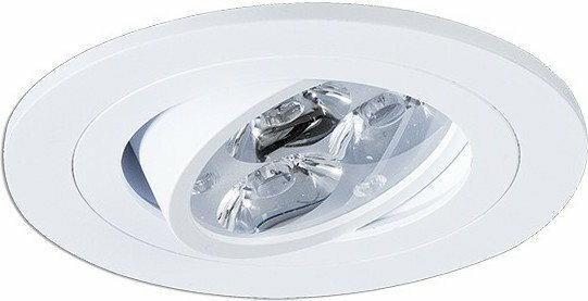 BPM Lighting 4210 Aluminium białe - Oczko wpuszczane ruchome 3 LED x 3W