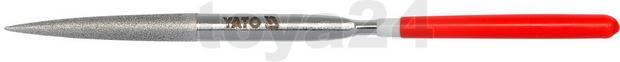 Yato Pilnik iglak diamentowy półokrągły 4x160x50 mm