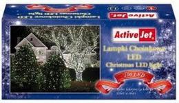 ActiveJet Lampki choin 100LED AJE-CL10010RGBO multi kol zew