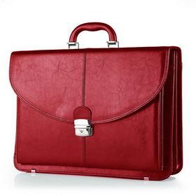 Galskór Teczka skórzana na laptopa 15 Elegant M-537 red
