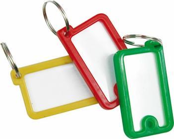 Vorel Zawieszki plastikowe do kluczy 12 szt 77930