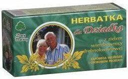 Dary Natury Herbatka dla dziadka 40g BIO