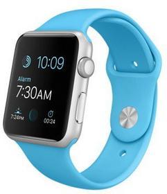 Apple Watch 42 mm Aluminium / Niebieski