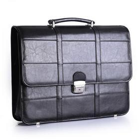 Galskór Teczka skórzana na laptopa - Czarny M-517 cz