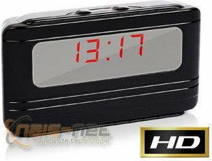 ChRL Zegar LCD X5000 ukryta mini kamera szpiegowska HD (detekcja ruchu)