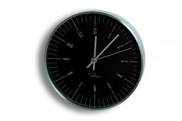 Tempus Zegar ?ścienny czarny, indeksy-arabic, 20 cm - PHILIPPI
