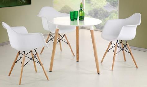 Halmar Zestaw Socrates stół OK + 3 krzesła K162
