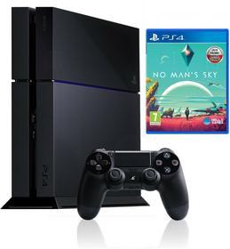 Sony Playstation 4 1TB Czarny + No Man s Sky Czarny + Akcesoria