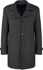 Esprit Płaszcz wełniany /Płaszcz klasyczny szary 095EO2G009