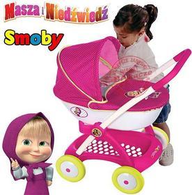 Smoby Wózek głęboki dla lalki Gondola Masza i Niedźwiedź 254101