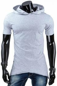 Dstreet T-Shirt z kapturem (rx1553) - szary
