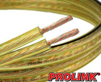 Prolink Kabel (przewód) głośnikowy HQ OFC CAV 1001 2 x 0.75 mm