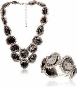 AnKa Biżuteria Elegancki Komplet Biżuterii z kamieniami naturalnymi