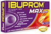 US Pharmacia Ibuprom MAX Sprint 400mg
