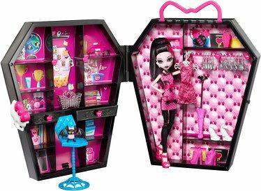 Mattel Monster High - Garderoba & Lalka BGT61