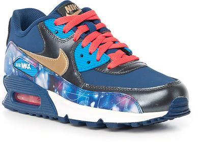 Nike Buty Dzieciece Air Max 90 Prem LTR (GS) 724879-004
