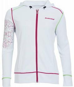 Babolat Bluza Dziewczęca Sweat Girl Match Performance - white