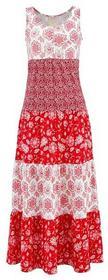 Bonprix Sukienka truskawkowy z nadrukiem 917511