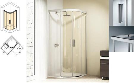 Huppe Design Elegance 80x80