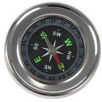 Kieszonkowy Metalowy Kompas . Idealny dla podróżników, osób lubiących aktywne ży