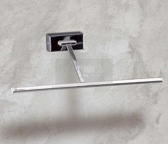 Maxlight LAMPA obrazowa OPRAWA Kinkiet ŚCIENNA metalowa DO holu PICTURE W0006 LED Chrom