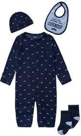 Carters SET Czapka blue 126G358